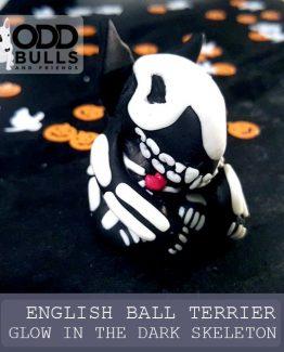 English Bull Terrier – Glow in the Dark Skeleton