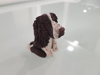 A Springer Spaniel Figure. Right Side Facing