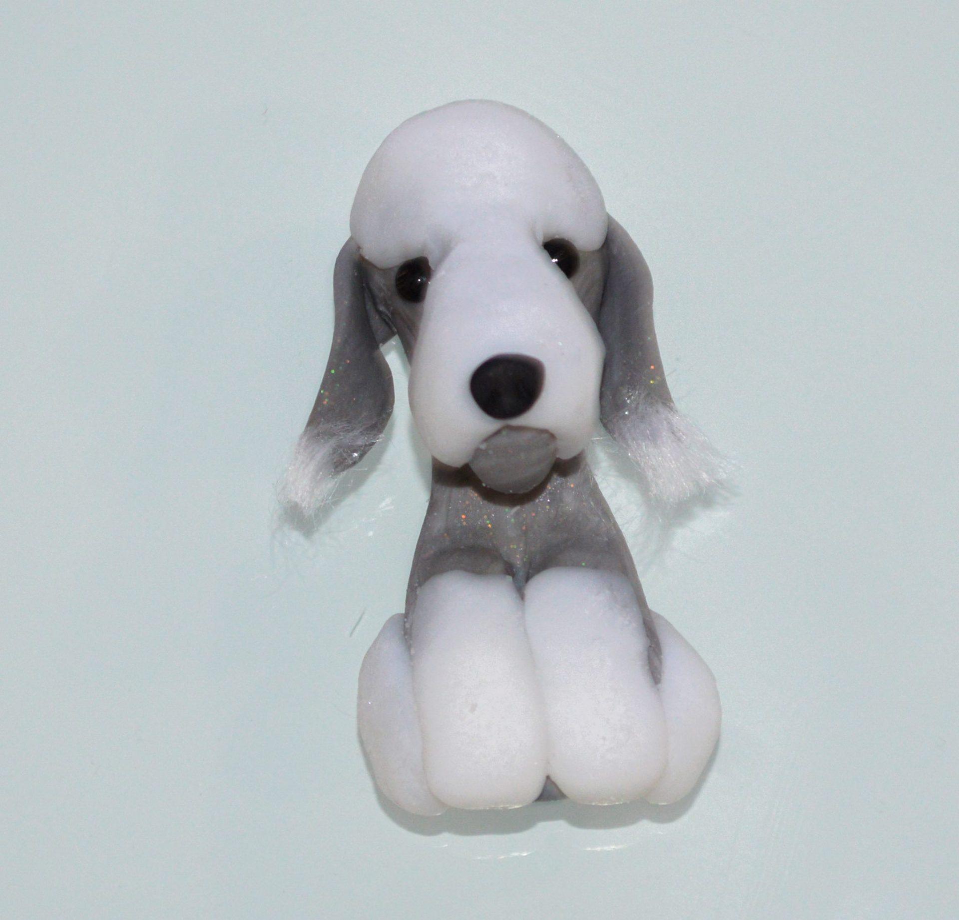 Bedlington Terrier - Fridge Magnet - Odd Bulls & Friends