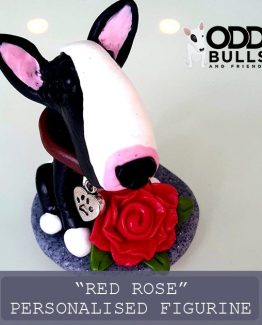 'Red Rose' Personalised Figurine