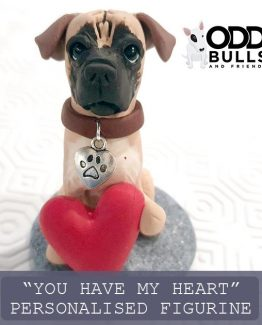 'You Have My Heart' Personalised Figurine