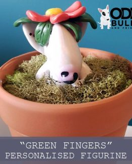 'Green Fingers' Personalised Figurine