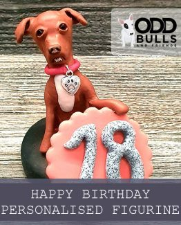 'Happy Birthday' Personalised Keepsake Figurine