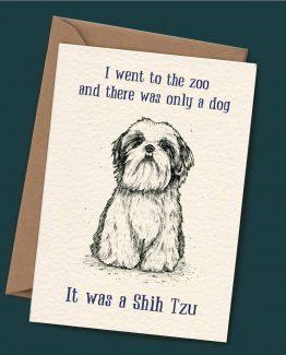 Shih Tzu – Dog Greeting Card